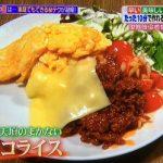 【ヒルナンデス】名店のまかない飯!10分で出来る特製タコライスのレシピ