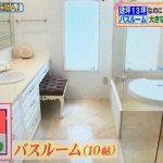 【ヒルナンデス】一級建築士のアイデア住宅!建坪13坪なのにスイートルーム風⑤バスルーム