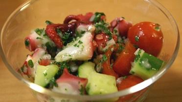 【あさイチ】栗原はるみの冷蔵庫お片付けレシピ!たことトマトのサラダ