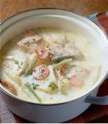【きょうの料理】粉牛乳でクリームシチューの作り方!舘野鏡子のレシピ!