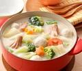 -【ヒルナンデス】たっぷり野菜のトマトクリームシチューの作り方!浅田好未のシンプルレシピ!5分で作れるシチュー!