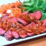 【ZIP】黒毛和牛のステーキ玉ねぎソースの作り方!成城石井のレストラン!話題のグローサラント!