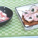 【ノンストップ】鶏の春菊巻き&紅白和えの作り方!笠原将弘のおかず道場!すりおろしリンゴが決め手!