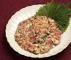 -【ヒルナンデス】アジアン&イタリアンなめろうの作り方!魚のプロ伝授のまぐろを美味しく食べる方法!
