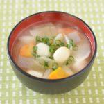 【ごごナマ/らいふ】ウエカツ流いわしレシピ!イワシのつみれ汁の作り方