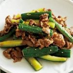 【あさイチ】きゅうり漬けと牛カルビの炒め物の作り方!五十嵐美幸さんのレシピ!