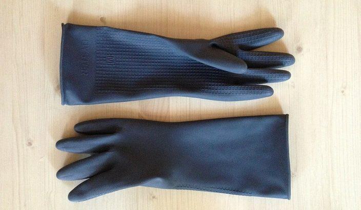 【ホンマでっか】ゴム手袋の活用法!軍手と合わせて雑巾!裏返して右手に!カットすれば輪ゴム!