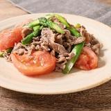 【ノンストップ】牛肉とアスパラの彩り炒めの作り方!クラシルの人気レシピ!