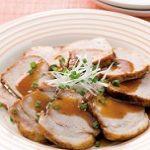 大谷翔平選手の簡単レシピ!ゆで豚のニラソース