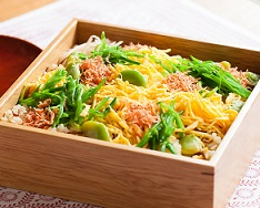 -【きょうの料理】春の豆ちらしの作り方!ワタナベマキの新緑おでかけレシピ!