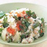 【きょうの料理】そら豆と生ハムのクレソンご飯の作り方!ワタナベマキの新緑おでかけレシピ!-