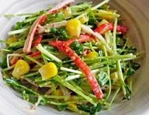 【ヒルナンデス】豆苗の冷やし中華の作り方!堀ちえみの豆苗のシンプルレシピ!春雨でカロリーオフ!