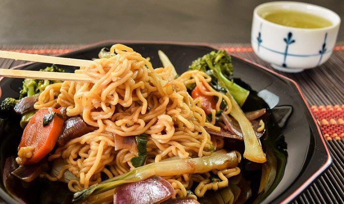 【ノンストップ】新しょうがのしょうゆ焼きそばの作り方!坂本昌行さんのレシピ!