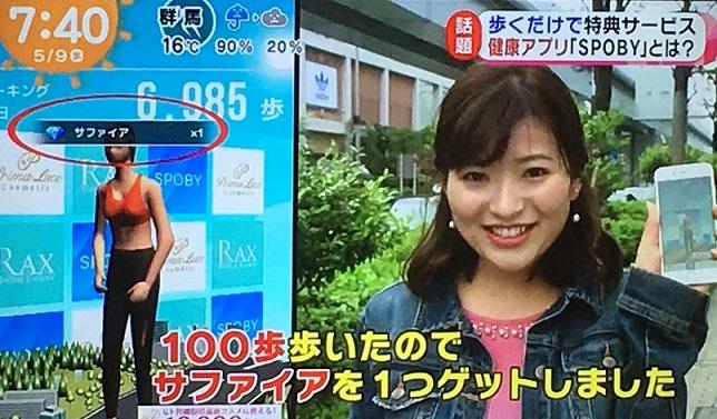 健康アプリ,めざましテレビ