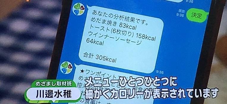 めざましテレビ,LINE