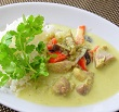 【ヒルナンデス】豆乳グリーンカレーの作り方!フライパンで夏カレー!菅田奈海さんの豆乳シンプルレシピ!