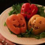 【ノンストップ】パプリカの肉詰めジャックオーランタンの作り方!クラシルのハロウィーン料理レシピ