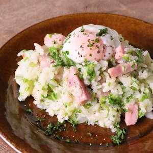 【ノンストップ】白菜とベーコンのお手軽クリームごはんの作り方!クラシルの人気レシピ