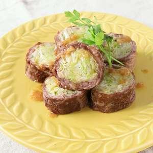 【ノンストップ】キャベツの牛肉ロール・ジンジャーレモンソースの作り方!クラシルの人気レシピ