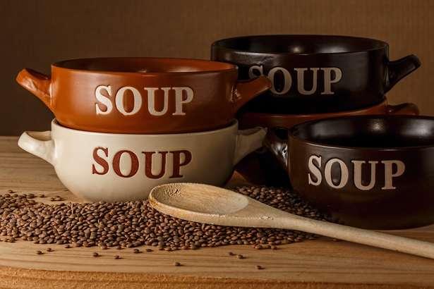 梅ズバ きな粉スープ