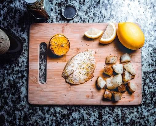 【夜会】白身魚ときのこのレモンバター蒸しの作り方!和牛水田さんのレシピ(2月14日)-