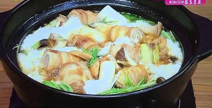 豚うずまき鍋