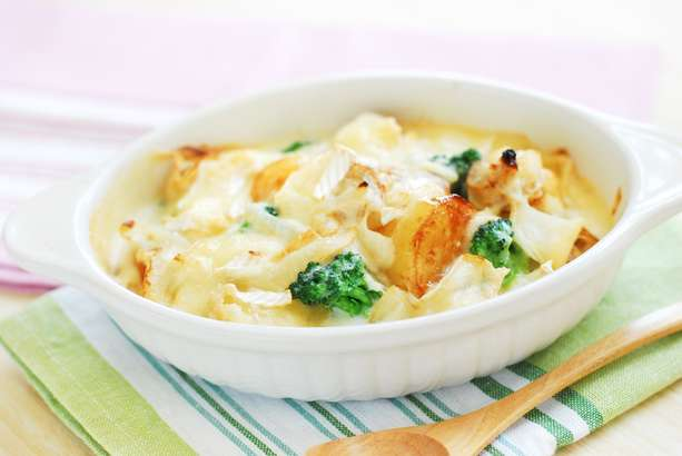 【ハナタカ】そうめんでニンニク味噌チーズ焼きの作り方。余ったそうめんのアレンジレシピ(8月15日)