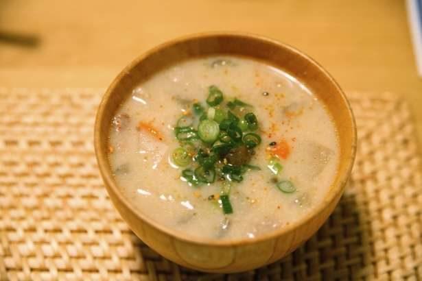 【ヒルナンデス】豆乳とホタテ缶の冷製クリーミーみそ汁の作り方。火を使わないおかず味噌汁レシピ(7月16日)