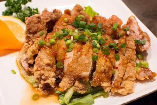 ヒルナンデス油淋鶏