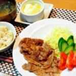 【男子ごはん】豚のしょうが焼きの作り方。タレを絡めるだけで簡単!春の定番の炒め物料理レシピ(5月5日)