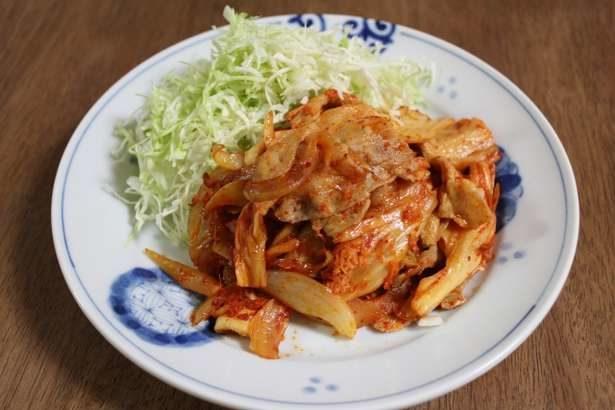 【男子ごはん】豚キムチ炒めの作り方。春の定番の炒め物料理レシピ(5月5日)