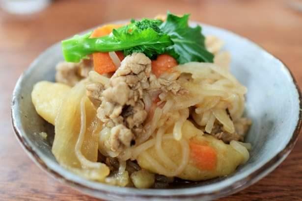 【教えてもらう前と後】肉じゃがをレンジで作るレシピ。和風ドレッシングで10分!タケムラダイさんのレンチンレシピ(12月3日)