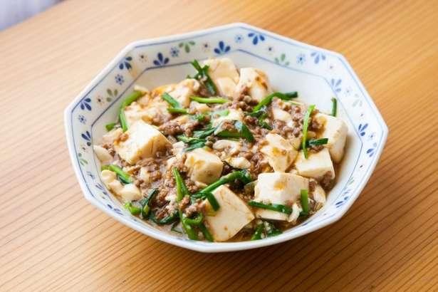 あさいち豚肉と豆腐の四川風炒め