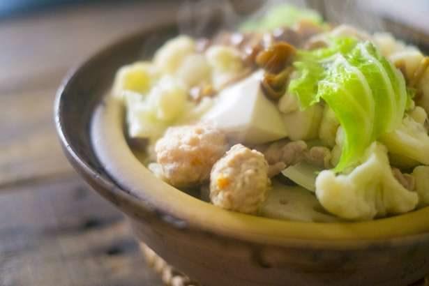 【ヒルナンデス】浜内千波さんの小鍋レシピ4品まとめ。簡単&お手軽な新感覚お鍋!白菜とエビのうま味たっぷり寄せ鍋など(11月21日)