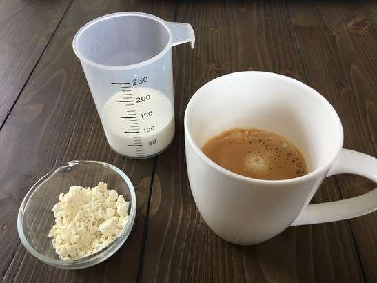 おからパウダーコーヒーの材料