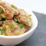 【男子ごはん】砂肝のとろろポン酢の作り方。スタミナ定食レシピ(6月9日)