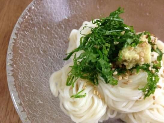 【NHKごごナマ】きゅうりとオイルサーディンのそうめん梅肉風味の作り方。フレンチ松木一浩シェフの缶詰レシピ【らいふ】(6月19日)