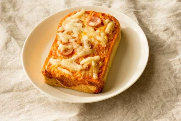 家事ヤロウたまごピザトースト