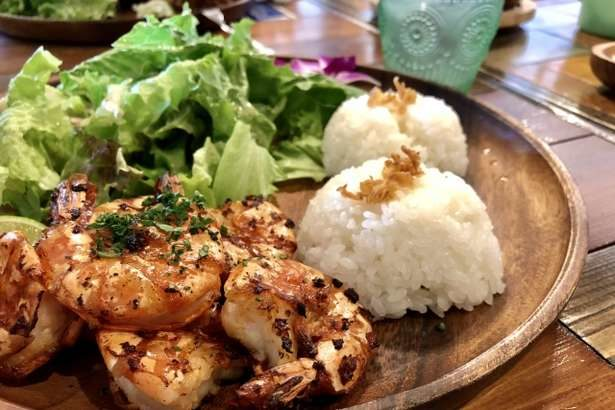 【あさイチ】ガーリックシュリンプライスのレシピ。ハワイの定番!海老とご飯のワンプレート料理【ゴハンだよ】(6月27日)