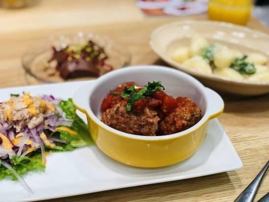 【あさイチ】揚げ焼きミートボールのトマト煮の作り方。小林まさみさん&まさるさんのレシピ(12月16日)