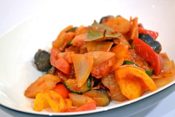 【男子ごはん】浅漬けカポナータの作り方。トマト・きゅうり・ズッキーニで!夏野菜レシピ第3弾(7月14日)