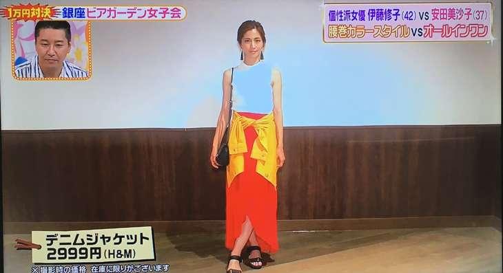 安田美沙子さん&高橋ユウさんチームのコーデ
