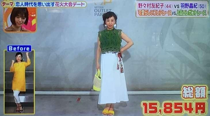 羽野晶紀さん&MAEKENさんチームのコーデ