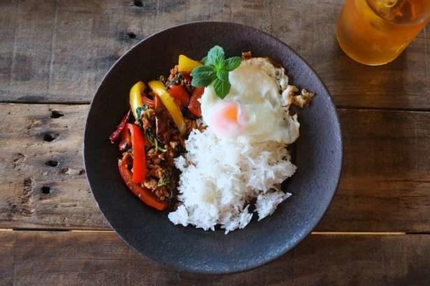 【ヒルナンデス】赤じそのガパオライスの作り方。農家直伝レシピ(9月12日)