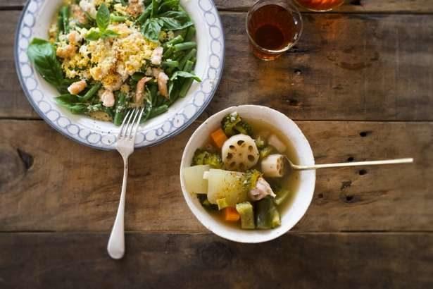 【あさイチ】やりいかと春野菜の塩辛炒めの作り方。道場六三郎シェフのレシピ(3月30日)