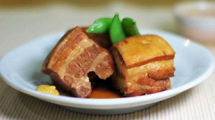 【ソレダメ】豚の角煮を電子レンジで作るレシピ。甘酒で失敗知らず!あまこようこさんが伝授(8月21日)
