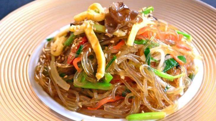 【ノンストップ】豚肉チャプチェのレシピ。坂本昌行さんの柿入りチャプチェの作り方10月30日