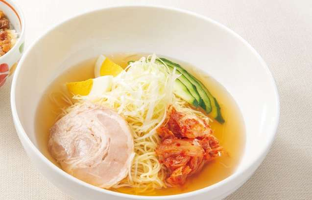 冷麺風カペリーニ デニーズ
