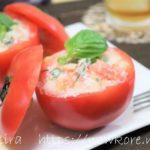 【モニタリング】トマト丸ごとサラダの作り方・レシピ動画。平野レミさんのツナマヨトマトサラダ(8月15日)