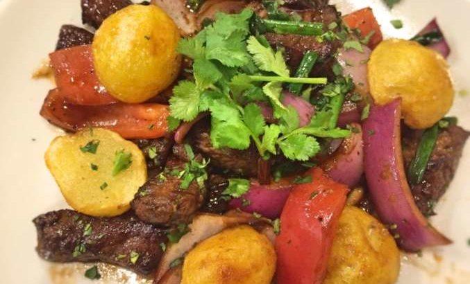 【メレンゲの気持ち】ロモサルタードの作り方。アレクさんのペルー料理レシピ(8月17日)